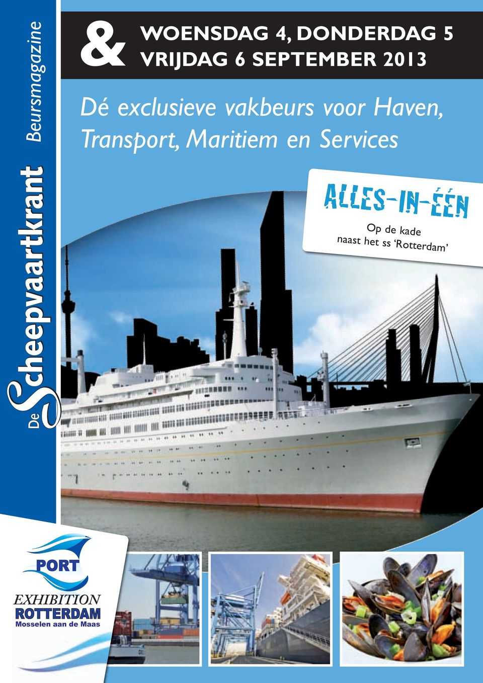Transport, Maritiem en Services ALLES-IN-ÉÉN Op de