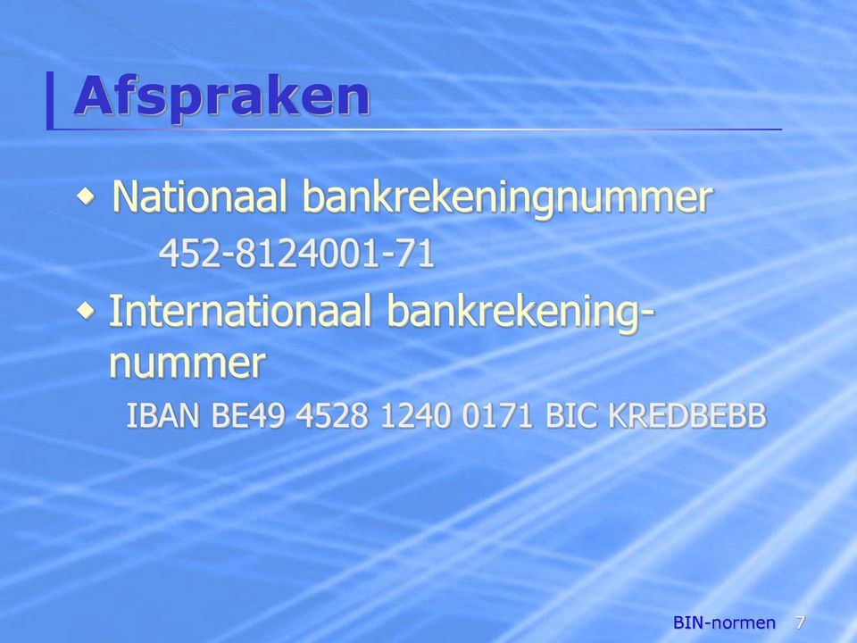 Internationaal bankrekeningnummer