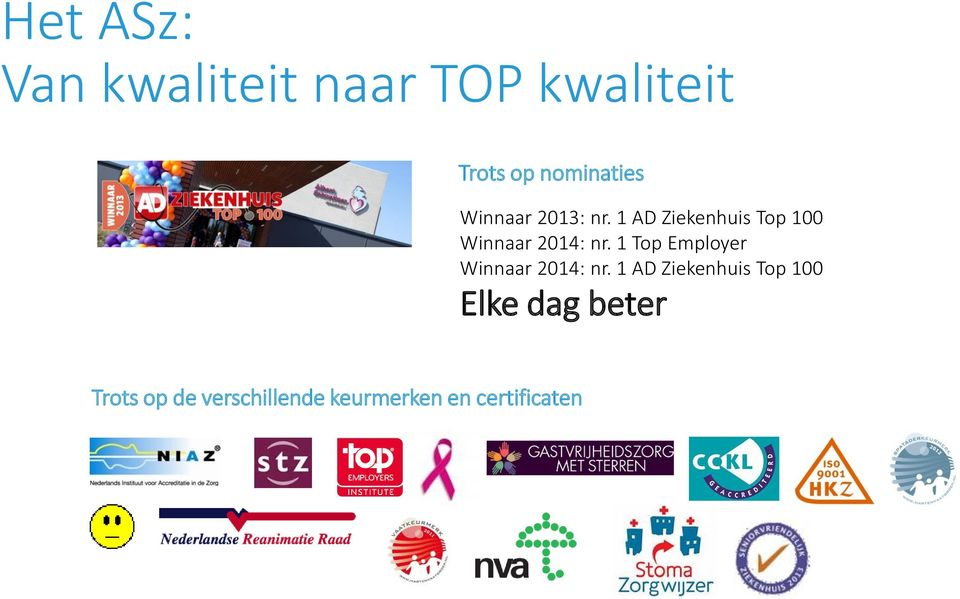 1 Top Employer Winnaar 2014: nr.