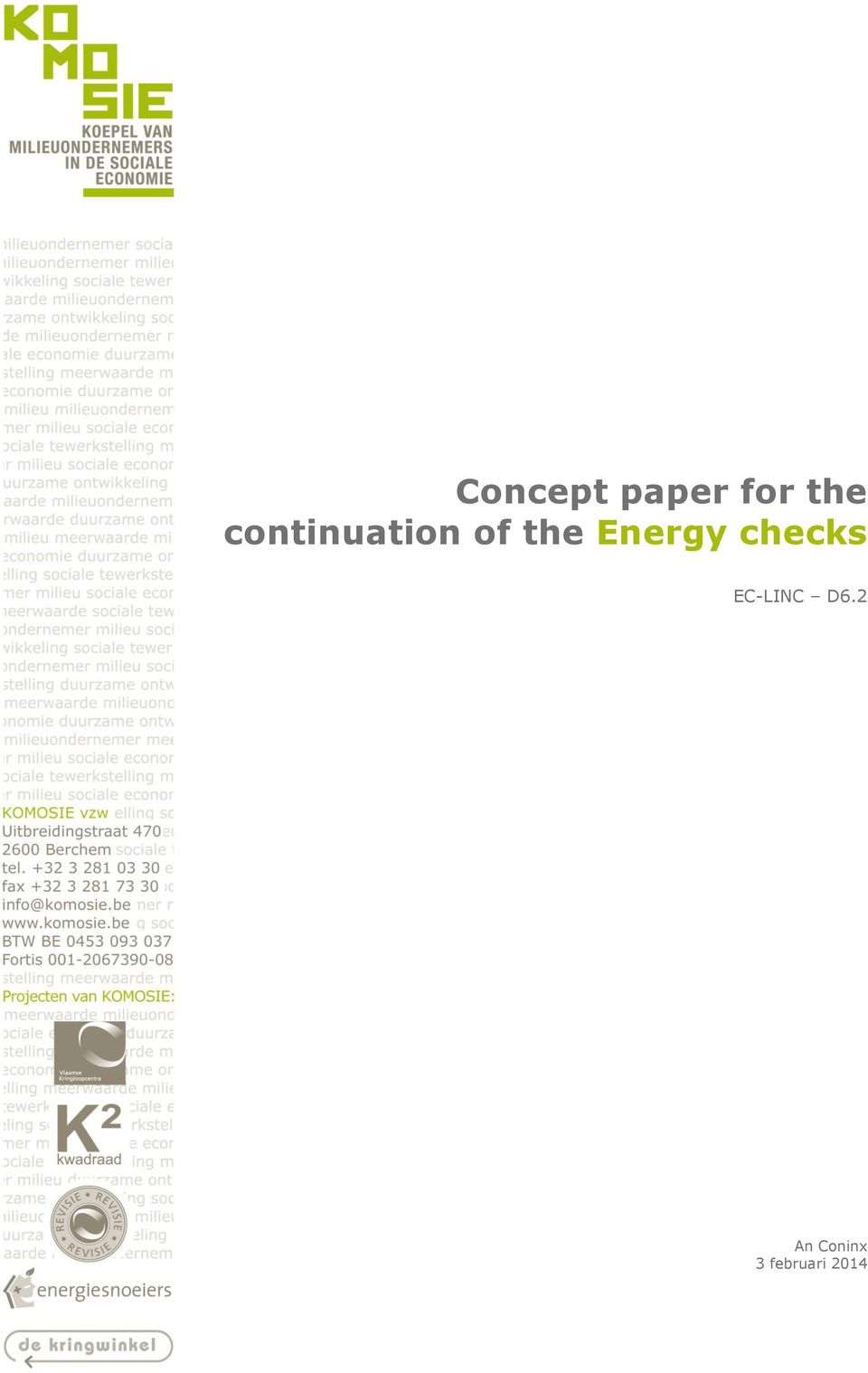 the Energy checks An