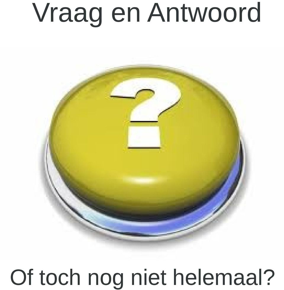 Of toch