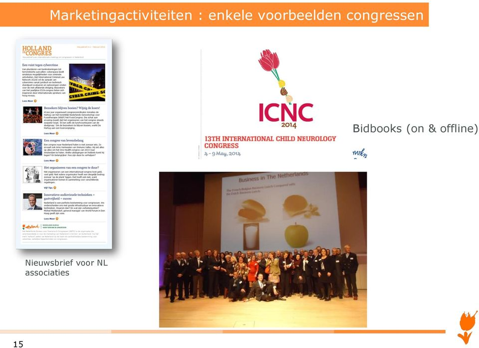 congressen Bidbooks (on &