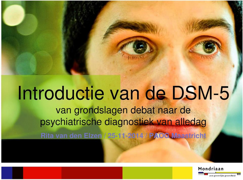 psychiatrische diagnostiek van