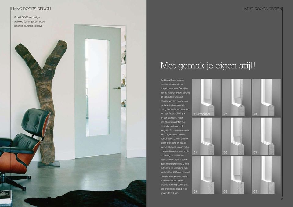 Weekamp Deuren Prijslijst : Livingdoors de living doors collectie glas in lood of strak design