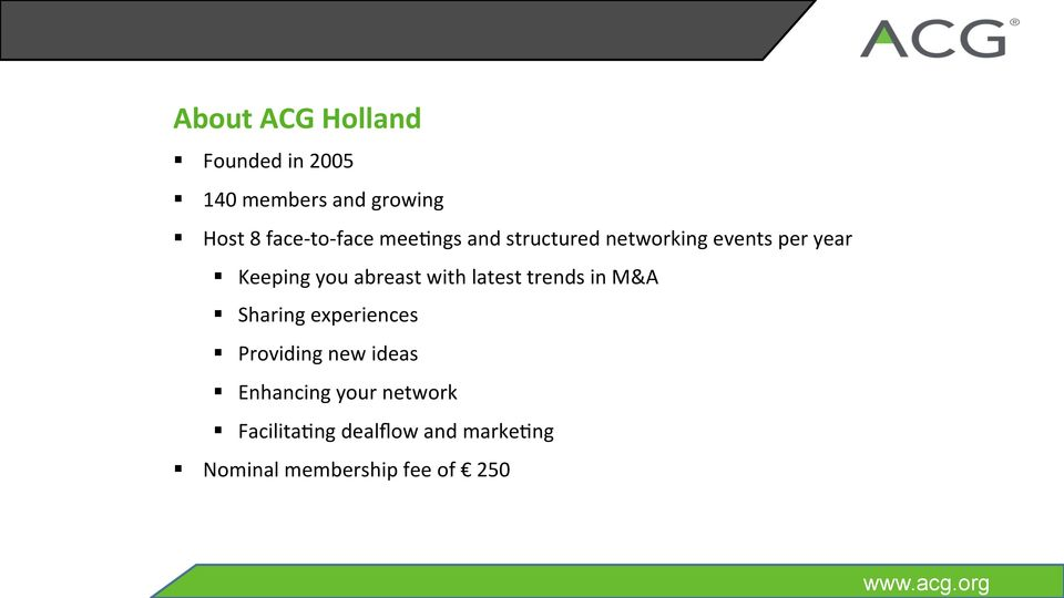 face meebngs and structured networking events per year Keeping you abreast