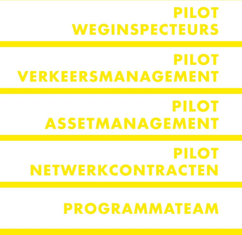 ASSET MANAGEMENT PILOT