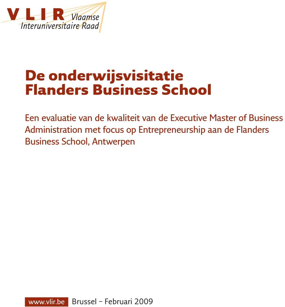 Business Administration met focus op Entrepreneurship aan