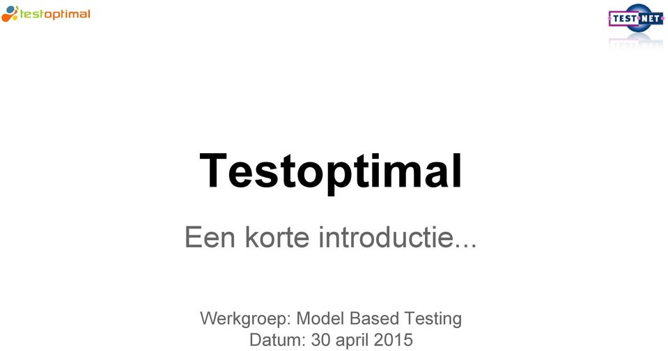 .. Werkgroep: Model
