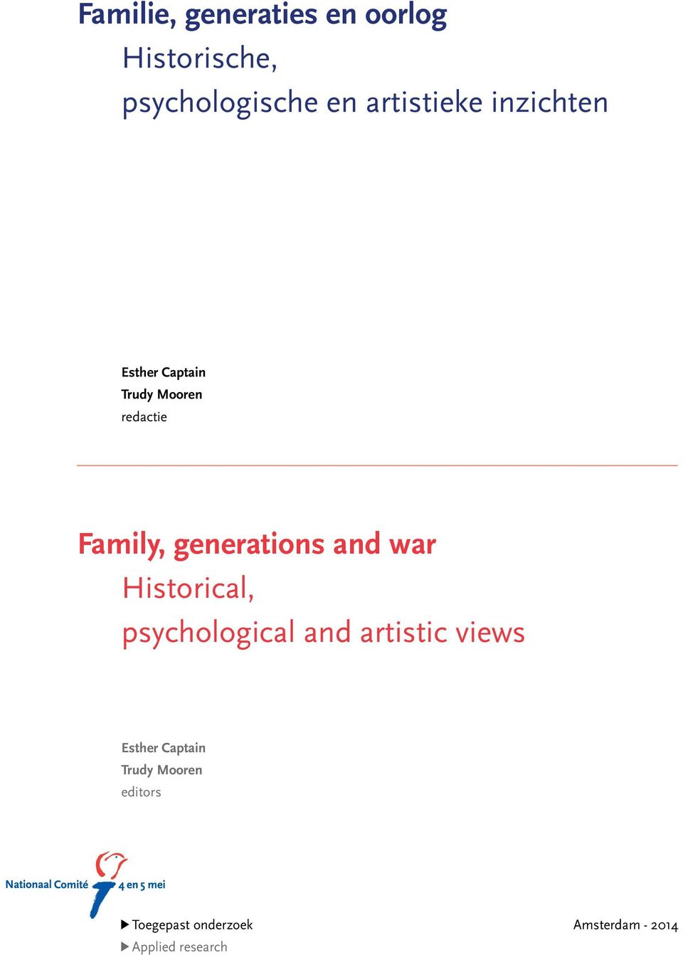 generations and war Historical, psychological and artistic views