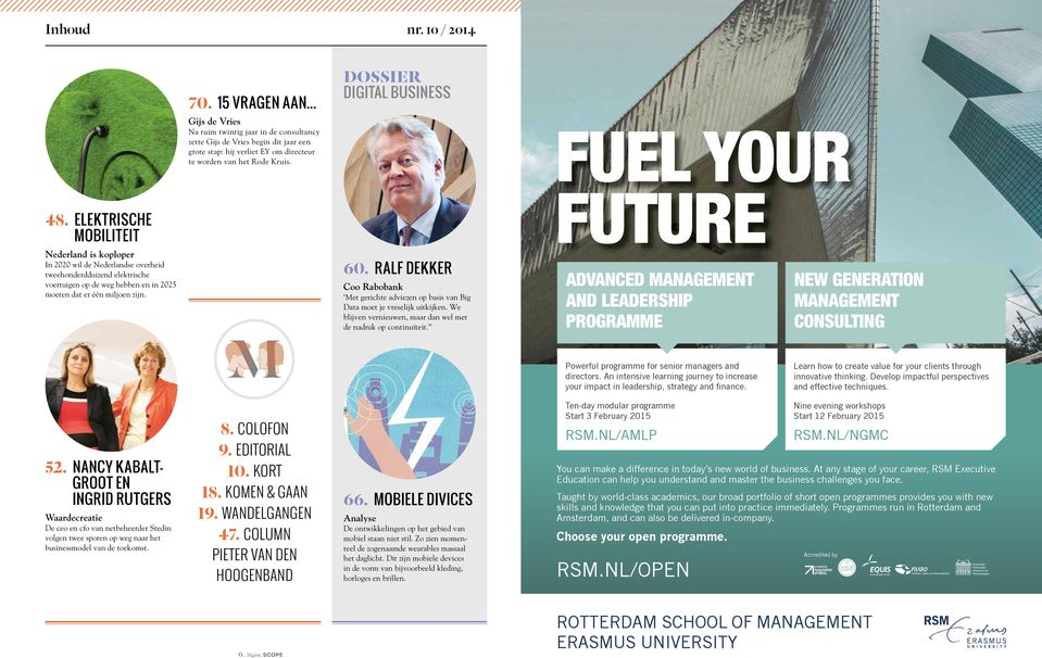 DOSSIER DIGITAL BUSINESS FUEL YOUR 48.