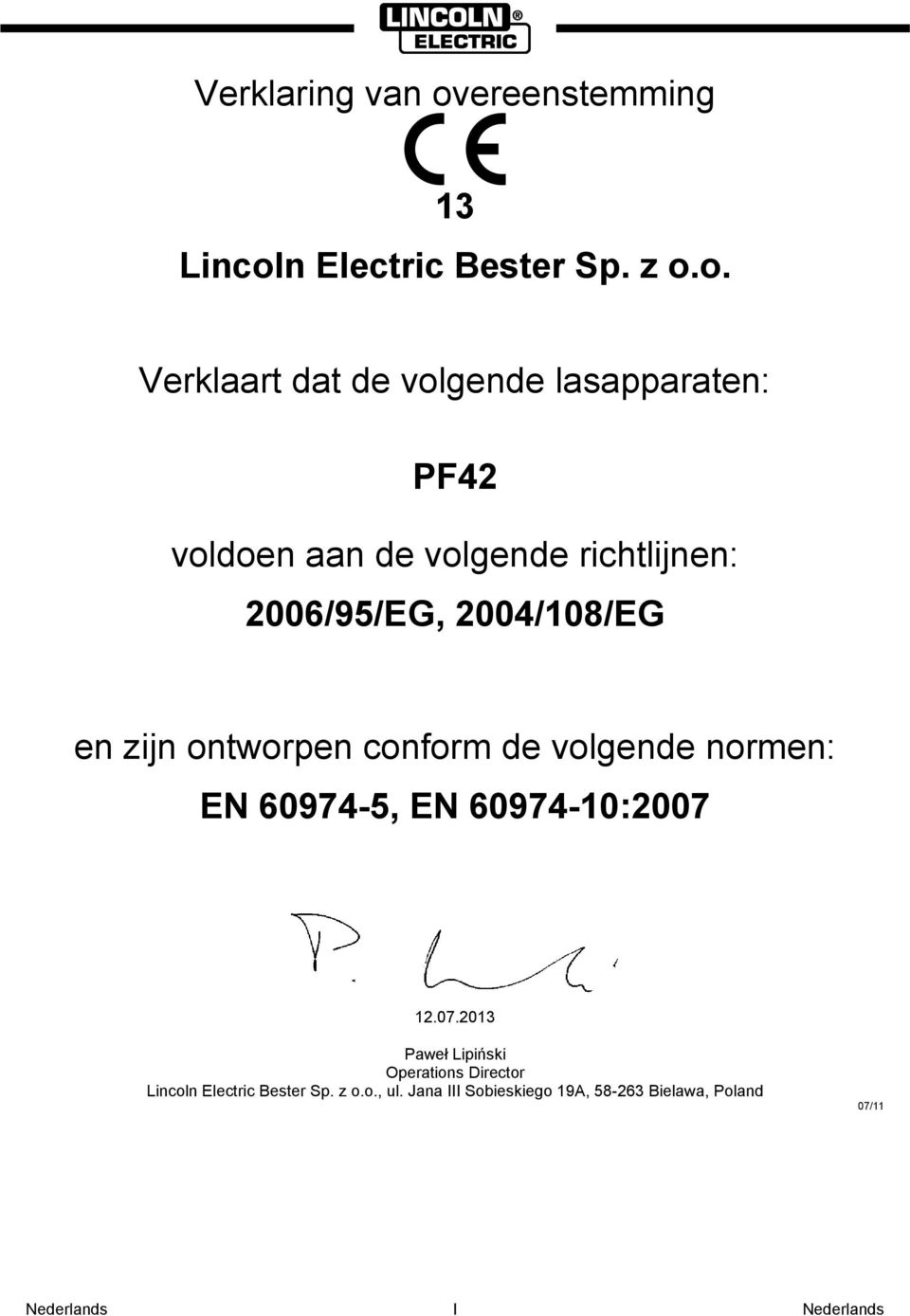 n Electric Bester Sp. z o.