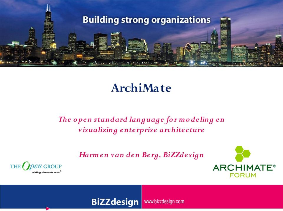visualizing enterprise archite