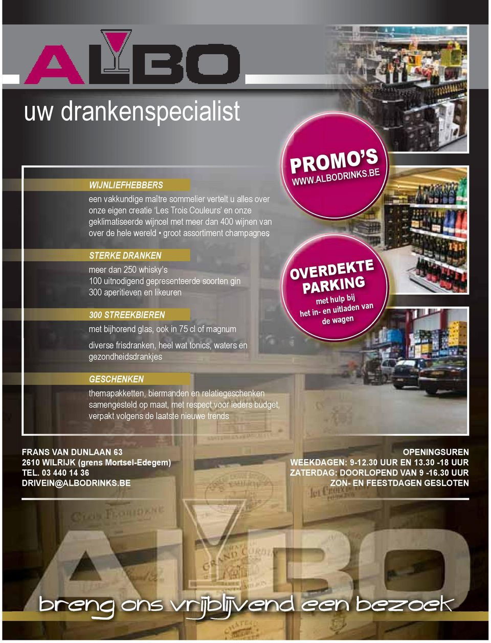 of magnum PROMO S WWW.ALBODRINKS.