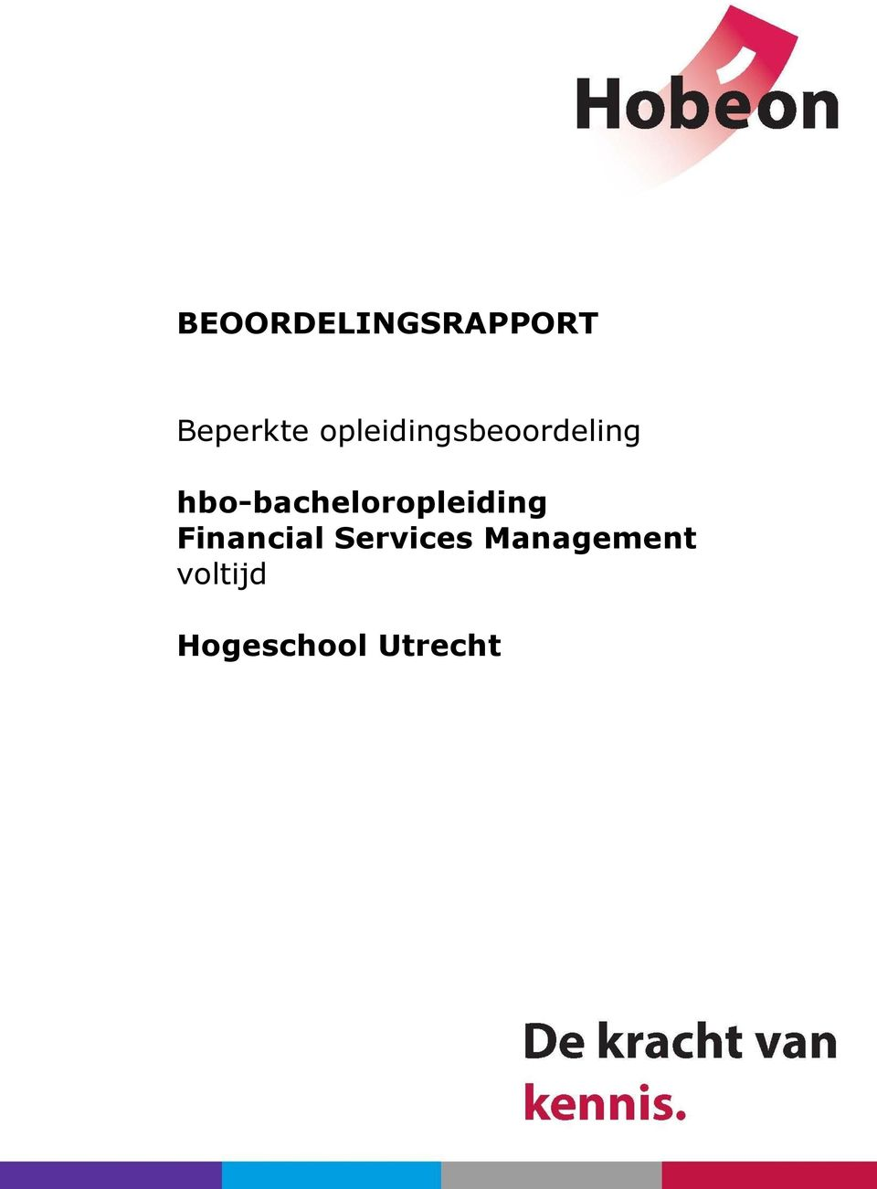 hbo-bacheloropleiding Financial