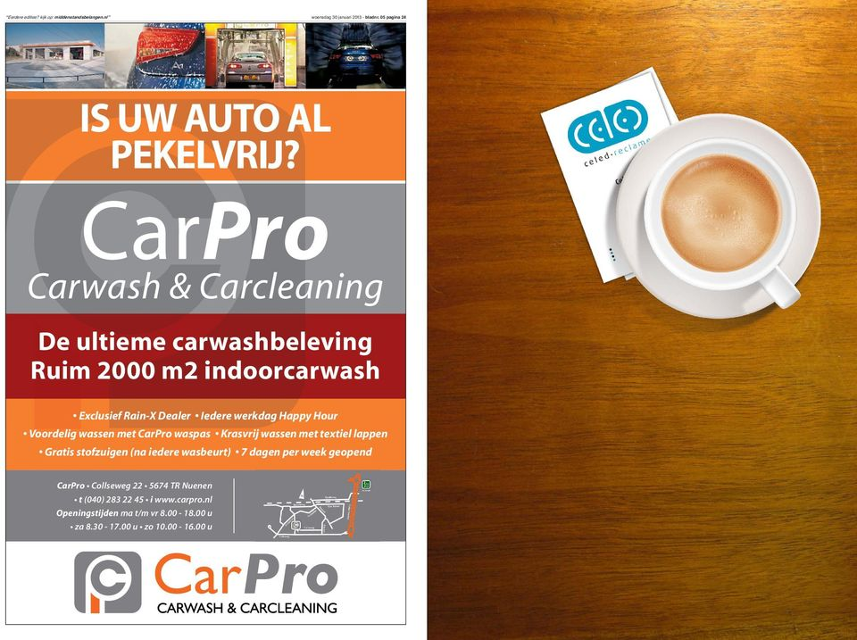 CarPro Carwash & Carcleaning De ultieme