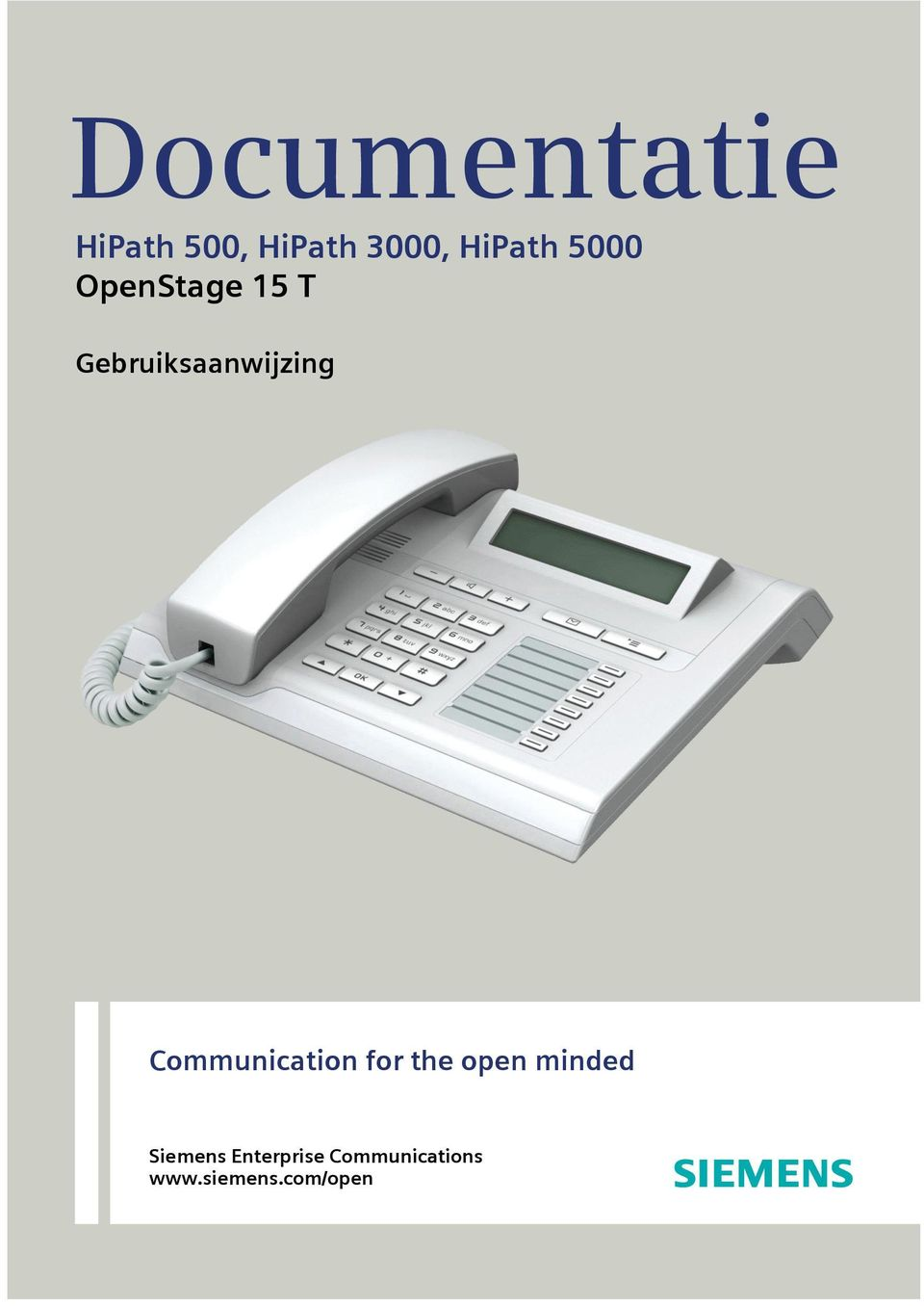 Gebruiksaanwizing Communication for the