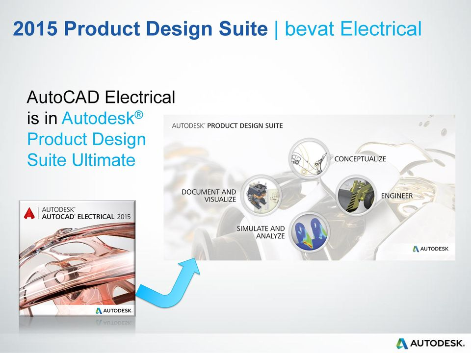 Electrical is in Autodesk