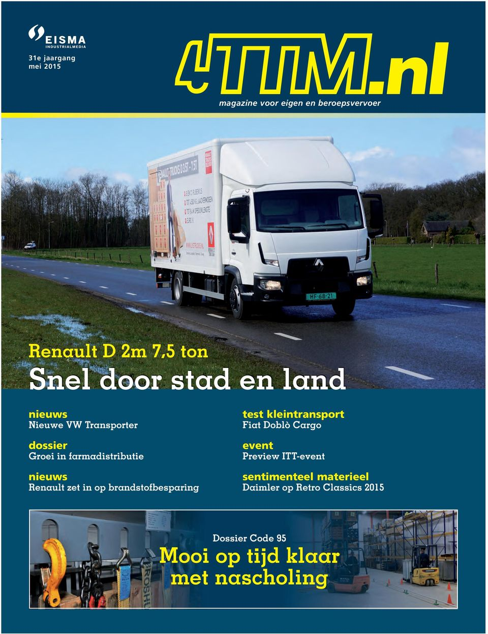 zet in op brandstofbesparing test kleintransport Fiat Doblò Cargo event Preview ITT-event