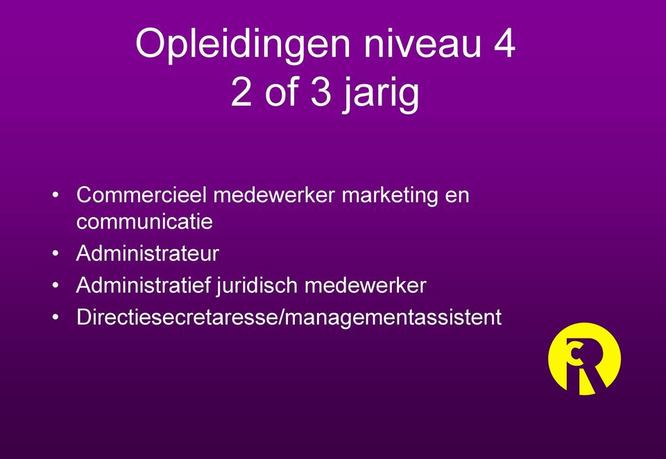 communicatie Administrateur Administratief