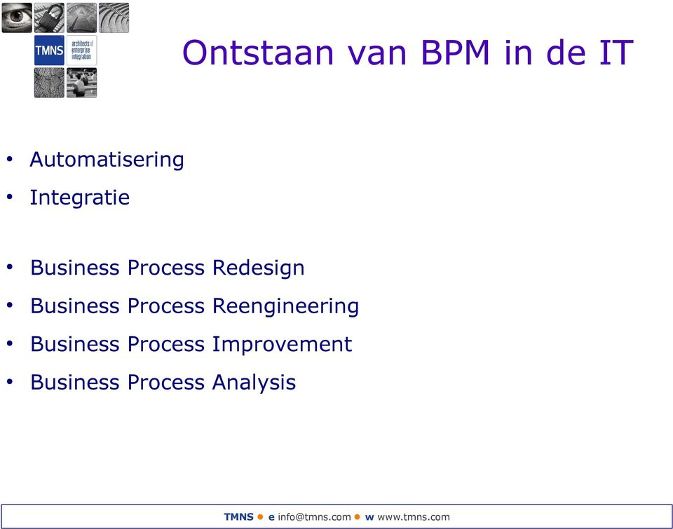 Business Process Reengineering Business