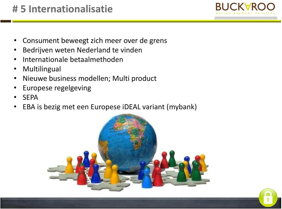 Multilingual Nieuwe business modellen; Multi product Europese