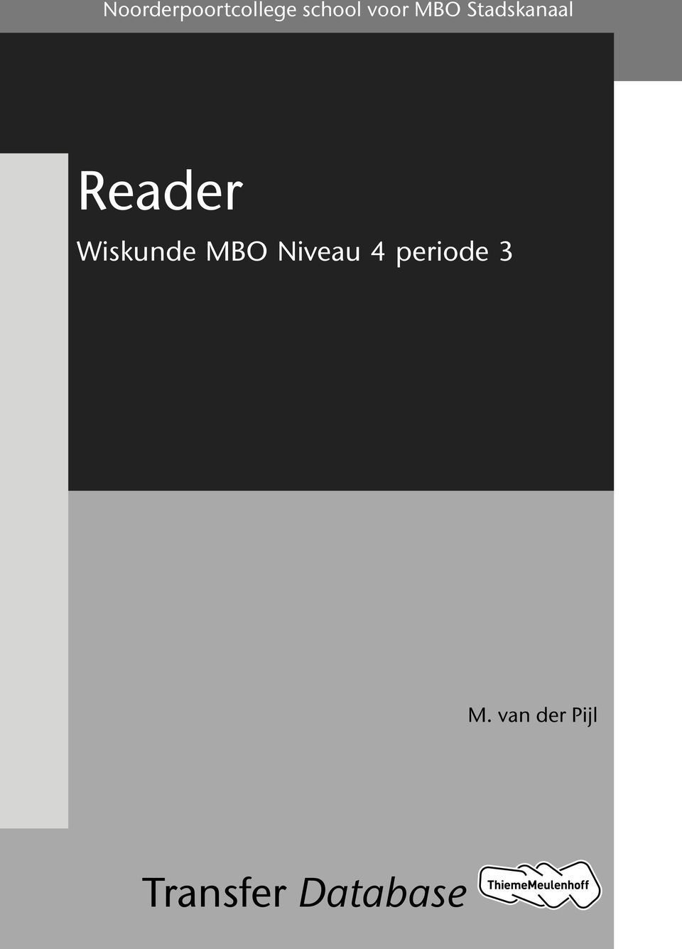 Wiskunde MBO Niveau 4 periode