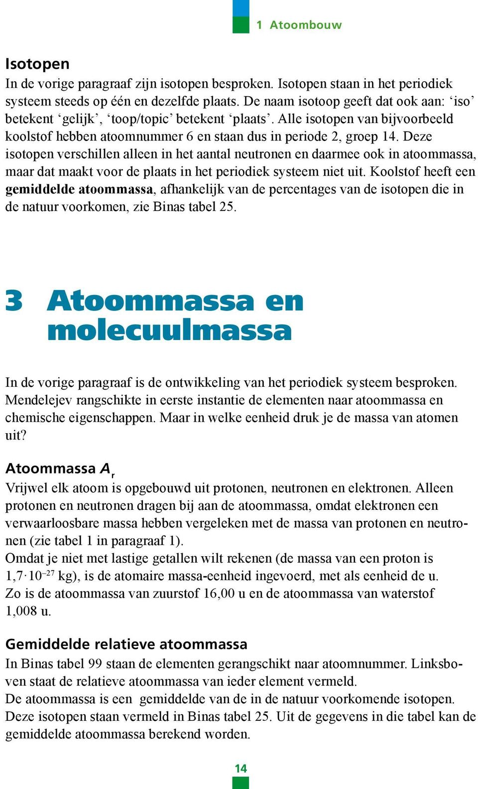 Scheikunde zakboek havo pdf for Binas tabel 99