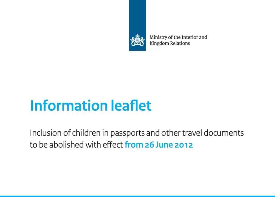 other travel documents to be