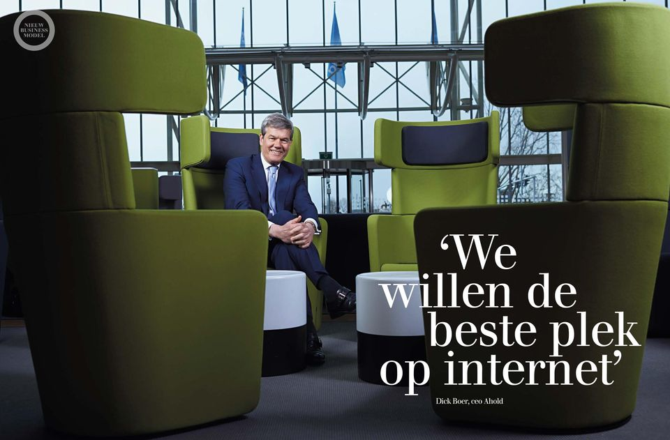 internet Dick Boer, ceo