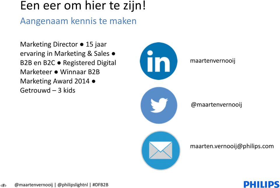 Marketing & Sales B2B en B2C Registered Digital Marketeer