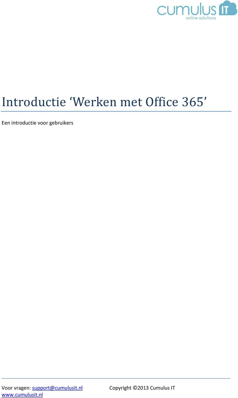 Office 365 Een
