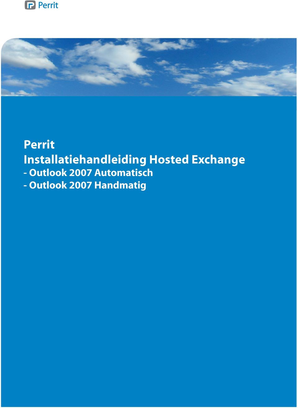 Hosted Exchange -