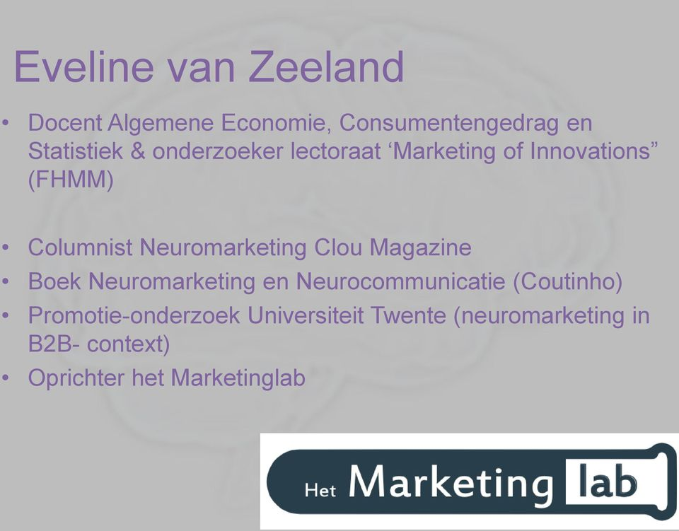 Clou Magazine Boek Neuromarketing en Neurocommunicatie (Coutinho)
