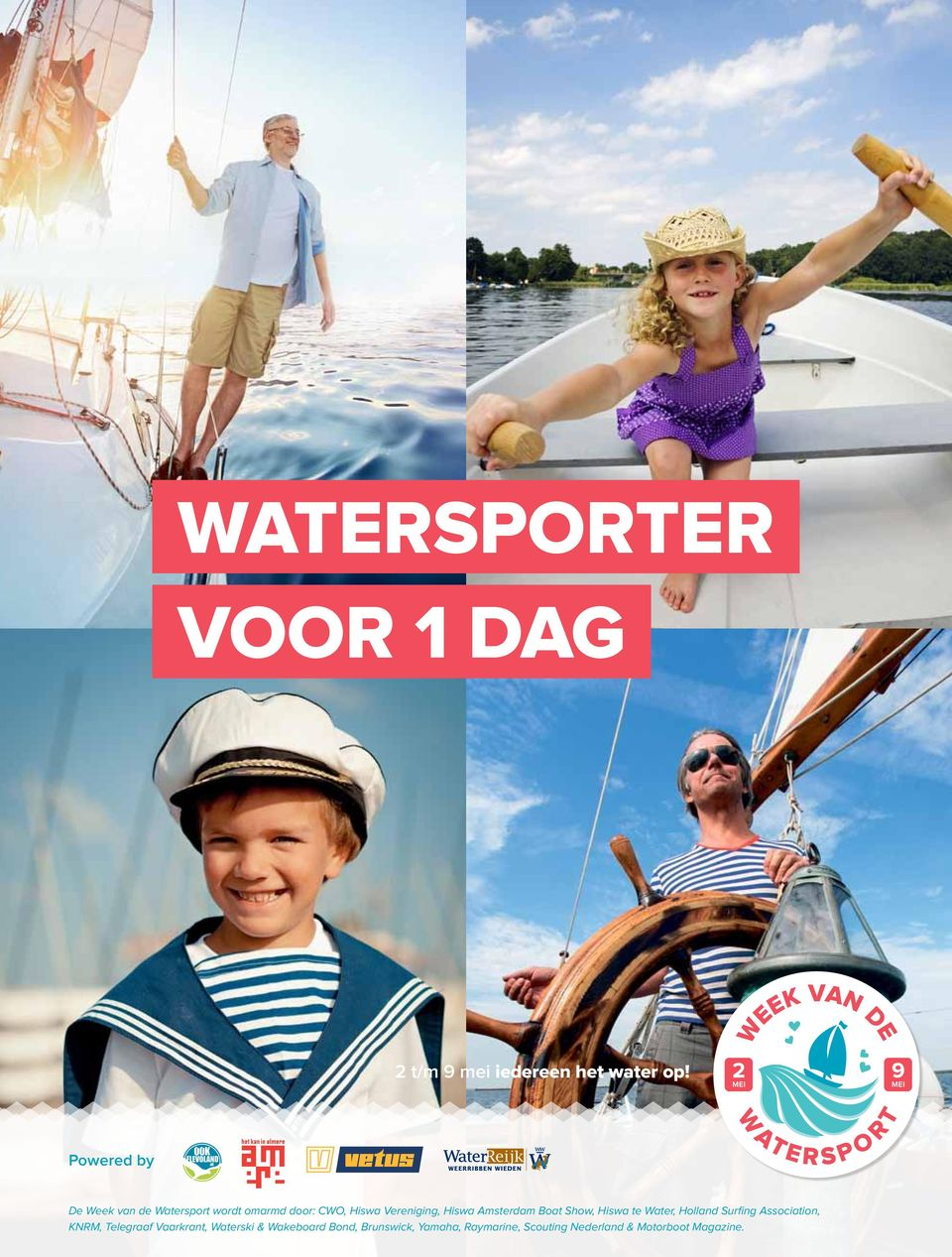 Amsterdam Boat Show, Hiswa te Water, Holland Surfing Association, KNRM,