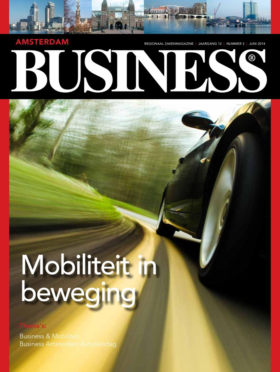 Mobiliteit in beweging Thema's: