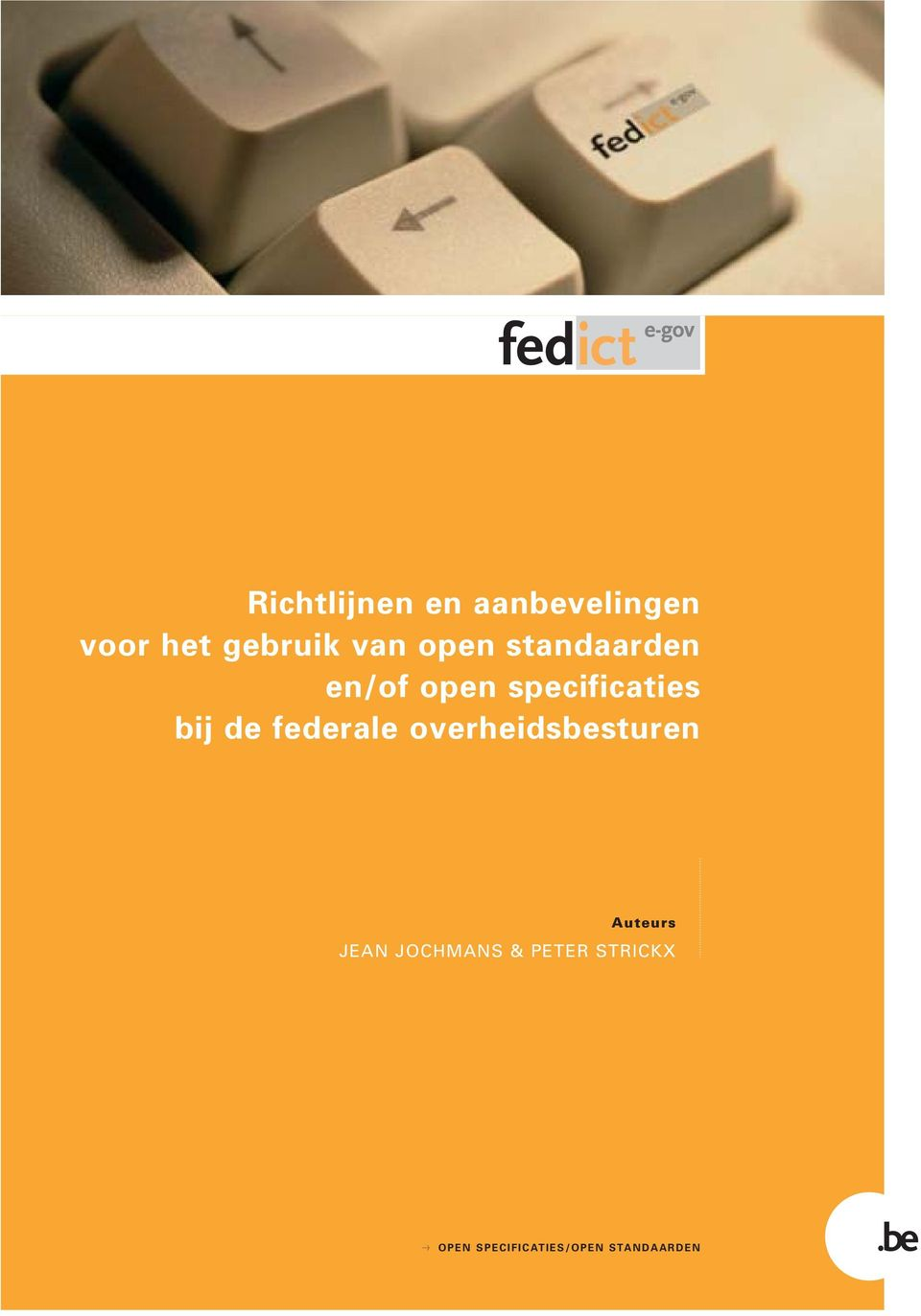specificaties bij de federale