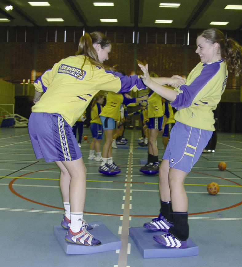PREVENTIEVE OEFENINGEN Overgenomen uit: Better sports and without injuries!