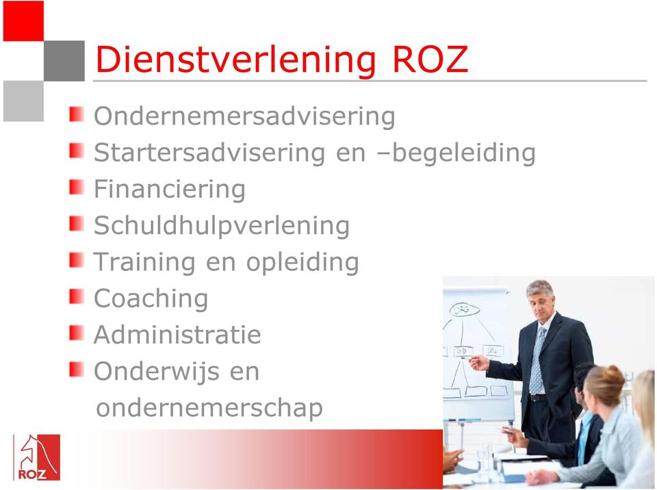 Financiering Schuldhulpverlening Training en