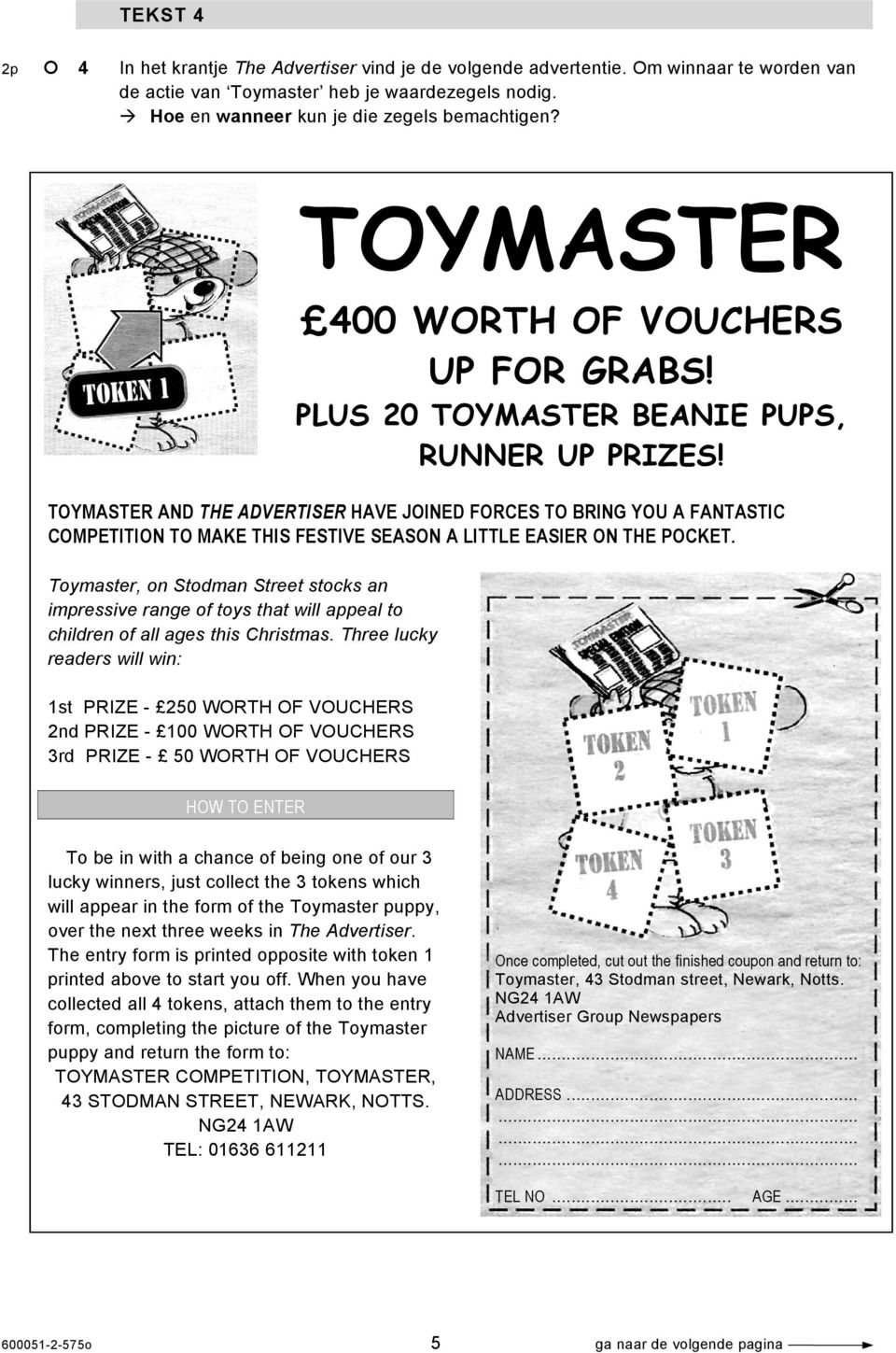 TOYMASTER AND THE ADVERTISER HAVE JOINED FORCES TO BRING YOU A FANTASTIC COMPETITION TO MAKE THIS FESTIVE SEASON A LITTLE EASIER ON THE POCKET.