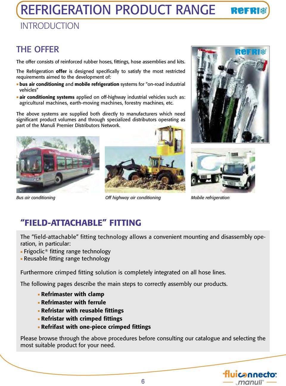 vehicles air conditioning systems applied on off-highway industrial vehicles such as: agricultural machines, earth-moving machines, forestry machines, etc.