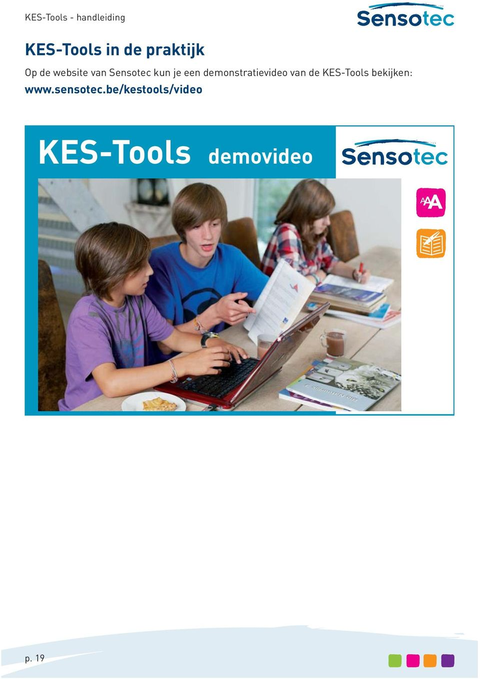 demonstratievideo van de KES-Tools