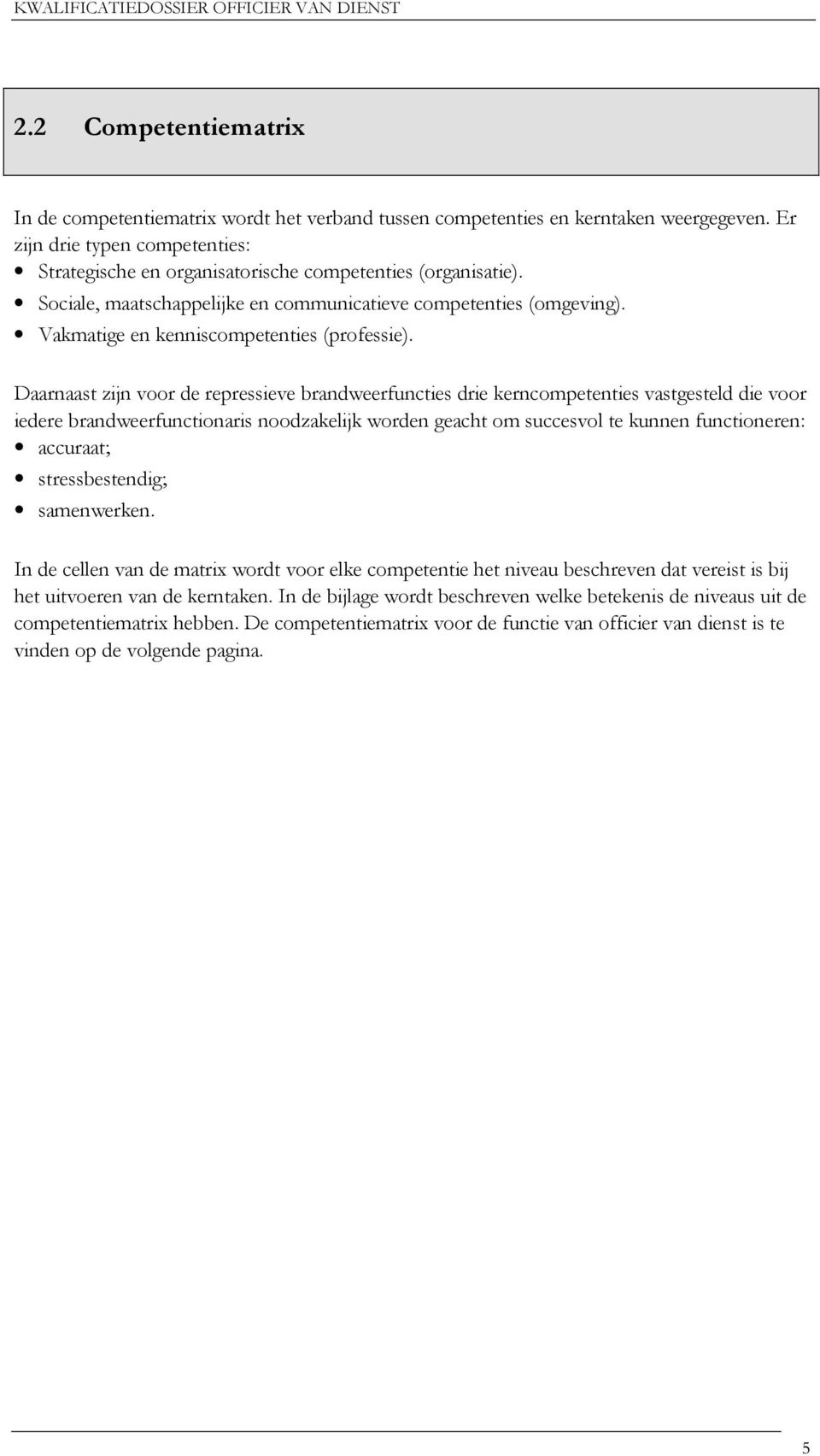 Vakmatige en kenniscompetenties (professie).