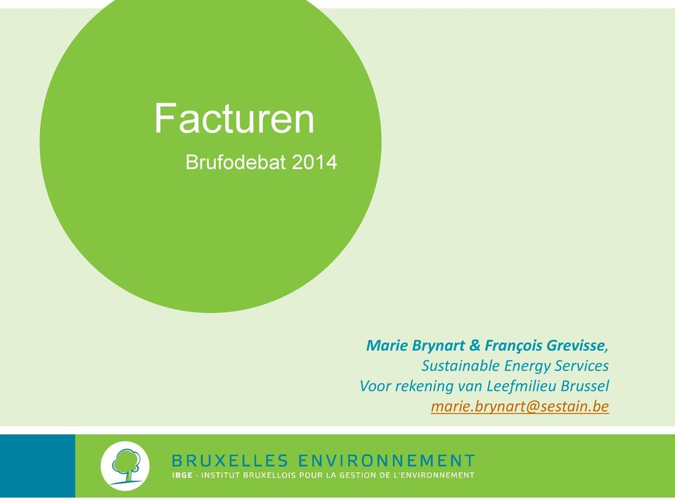 Sustainable Energy Services Voor