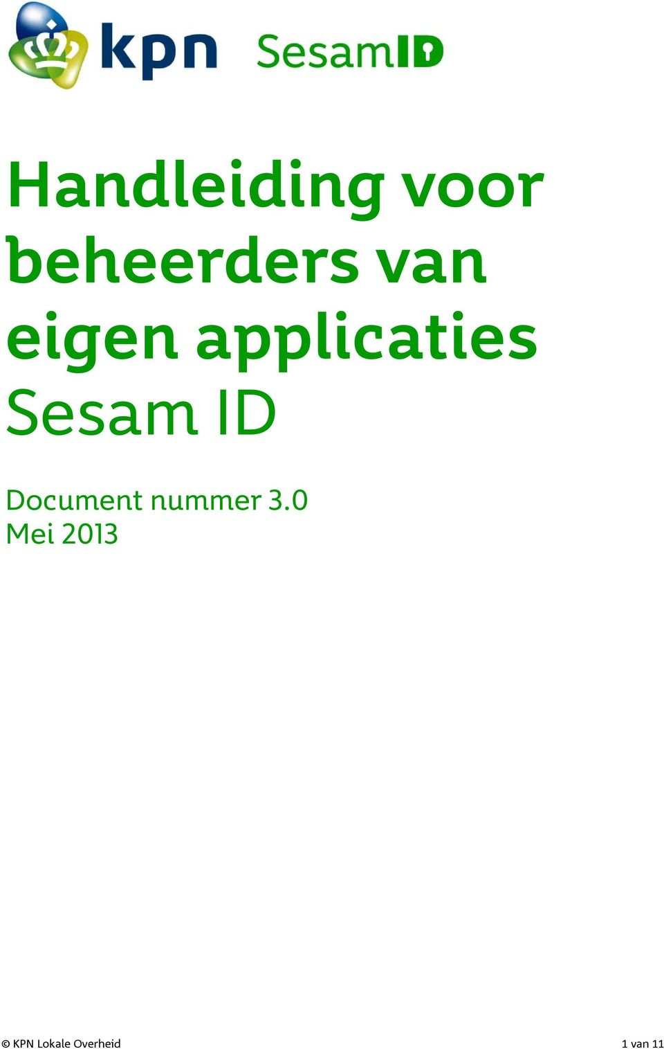 ID Document nummer 3.