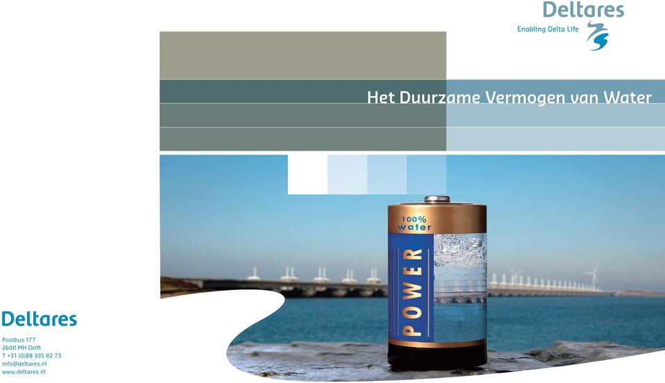 info@deltares.nl www.