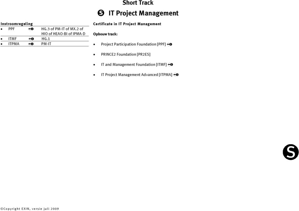 1 ITPMA PM-IT Certificate in IT Project Management Project