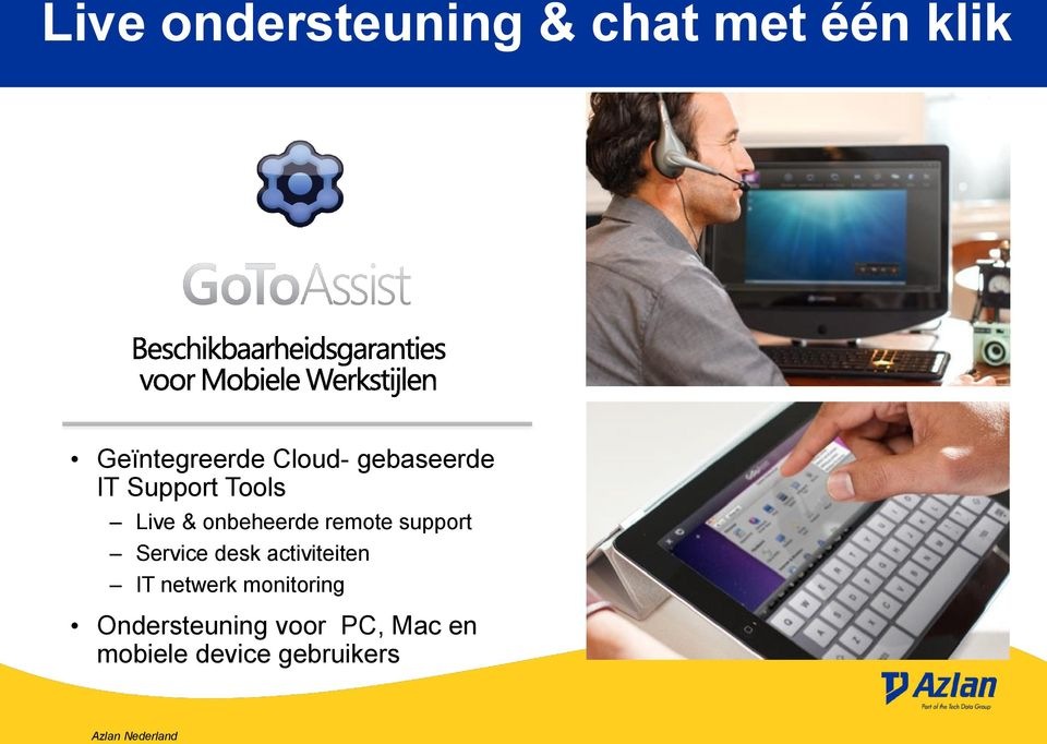 remote support Service desk activiteiten IT netwerk