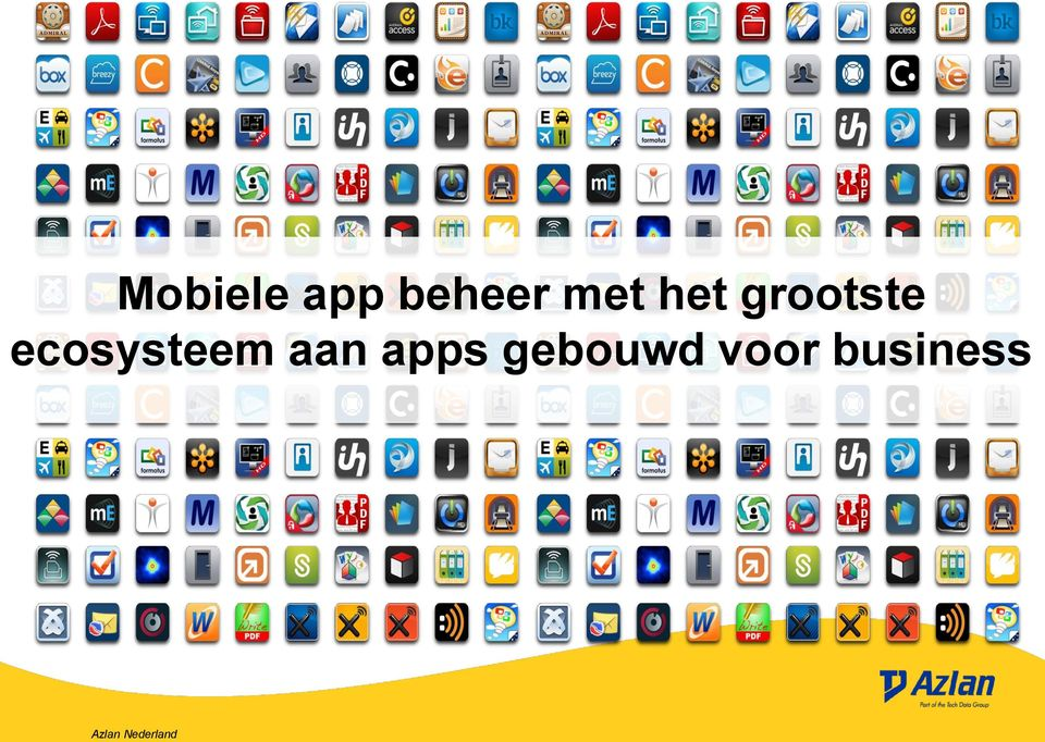 ecosysteem aan apps