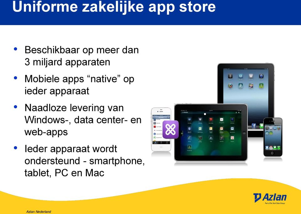 Naadloze levering van Windows-, data center- en web-apps