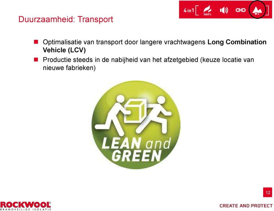 Combination Vehicle (LCV) Productie steeds in de